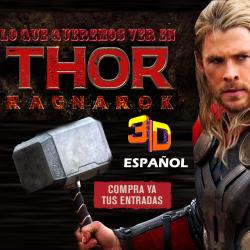 THOR RAGNAROK 3D -ESPAÑOL