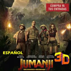 JUMANJI  - 3D ESPAÑOL